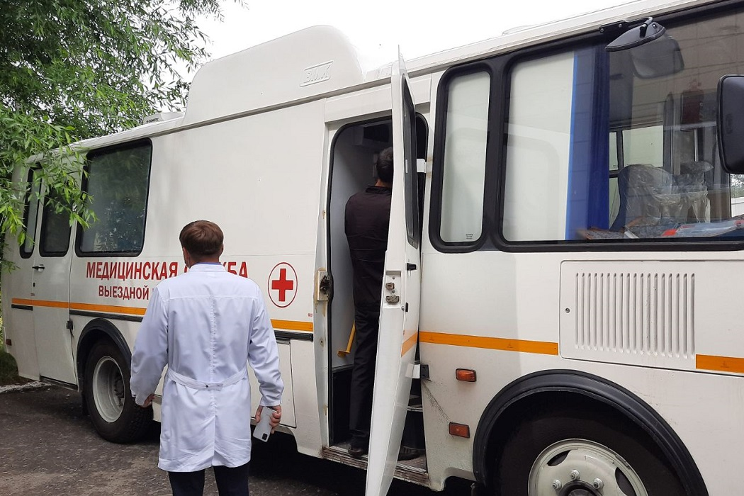 В больнице Ишима появился медицинский автобус
