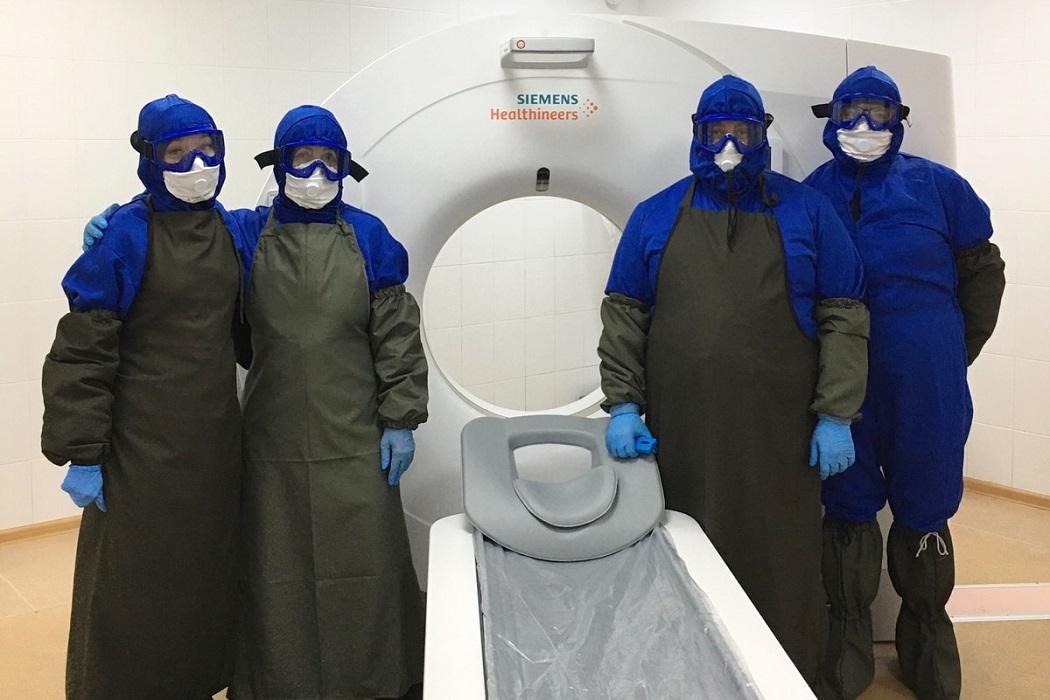 В тюменском КТ-центре за месяц провели свыше тысячи исследований лёгких