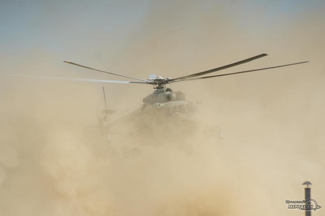 Вертолет полигон ЦВО