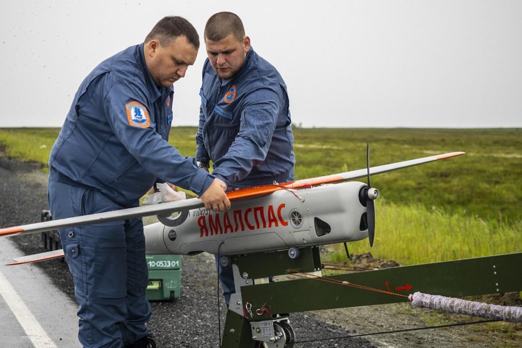 Ямальские леса патрулируют беспилотники «Орланы»
