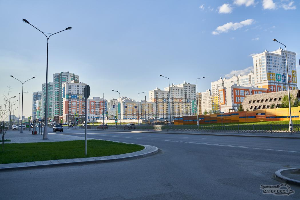академический Екатеринбург город дома