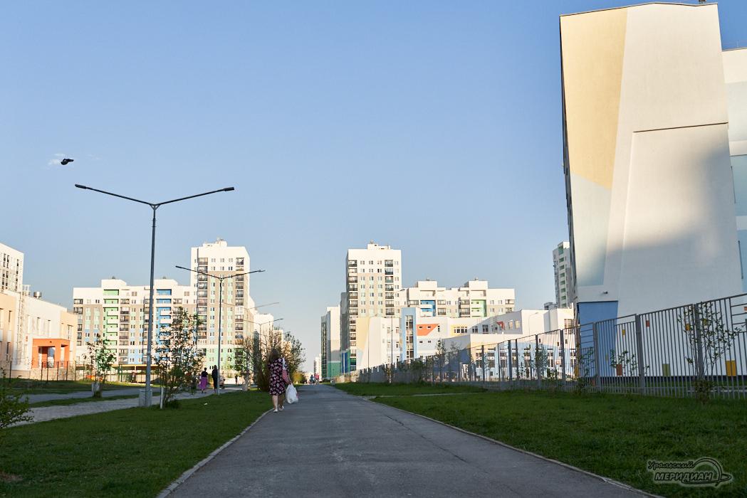 академический Екатеринбург город дома улица пешеход