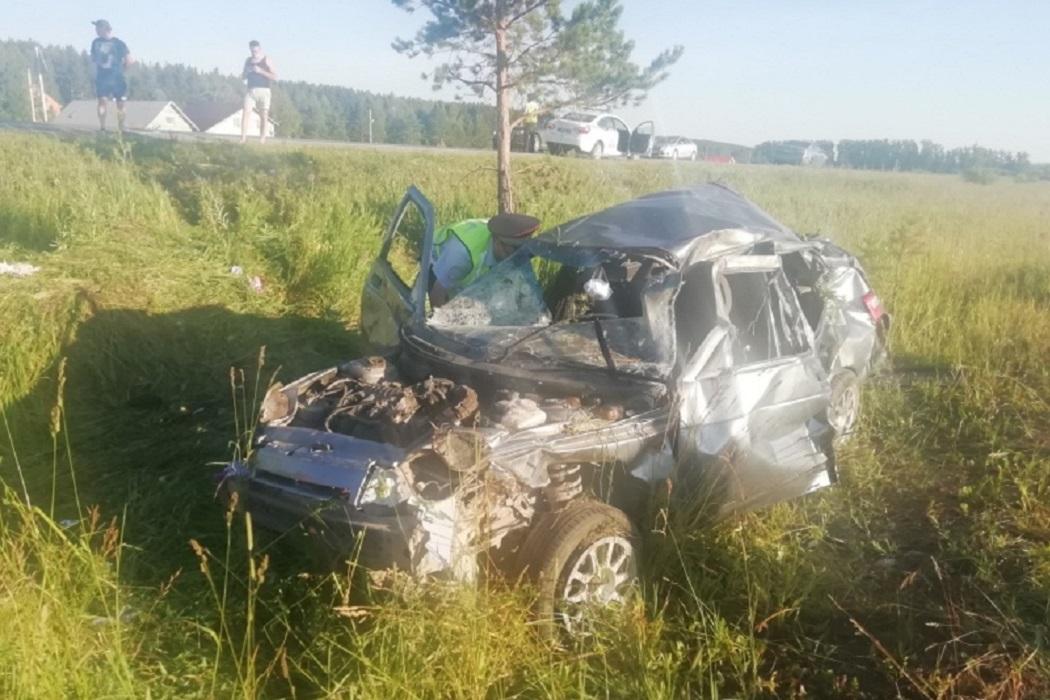 В Белоярском районе в страшном ДТП погибли два человека