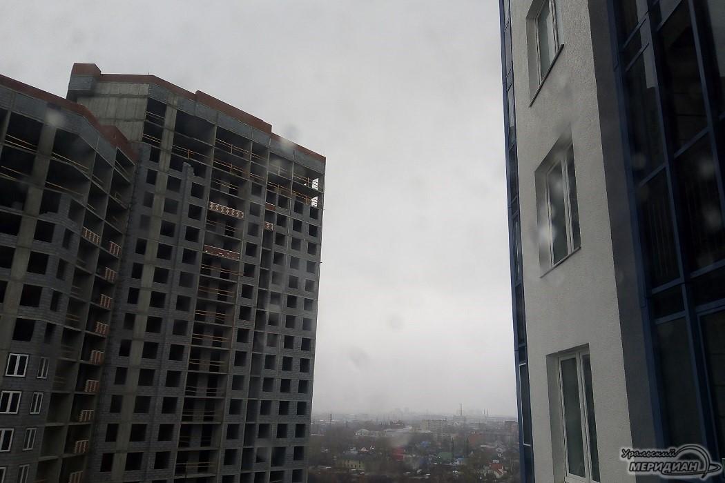 гроза дождь новостройка