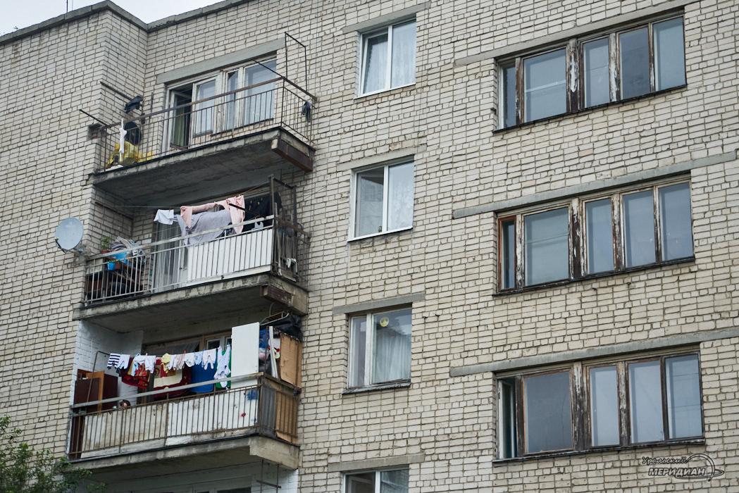 дом балкон