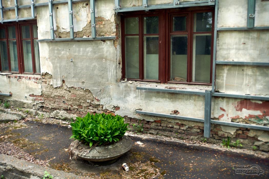 дом ремонт клумба