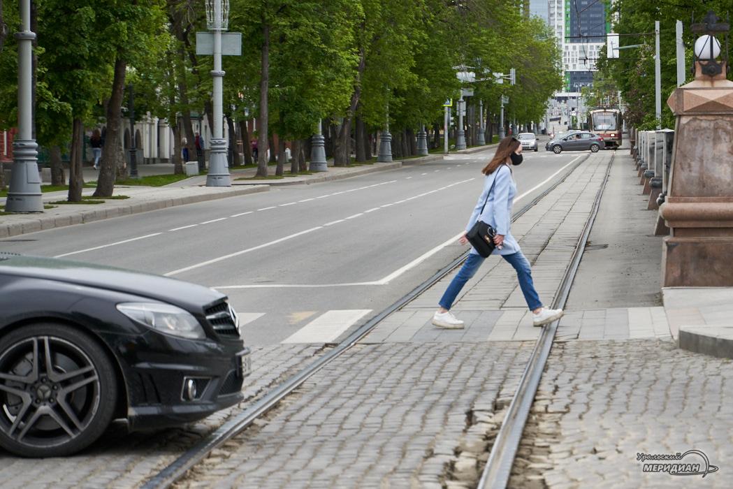 дорога пешеход улица карантин