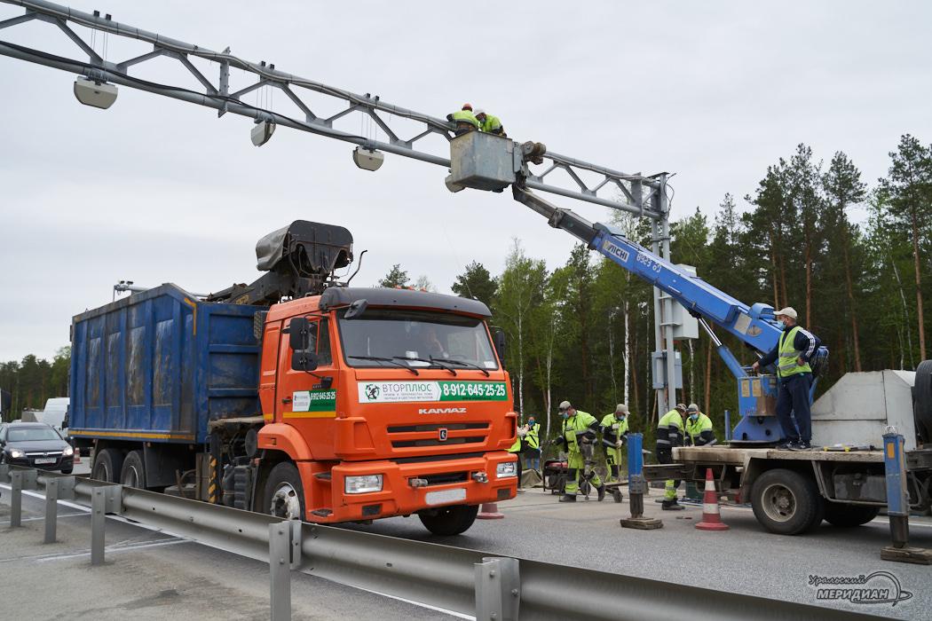 дорога весовой контроль ремонт карантин машина камаз