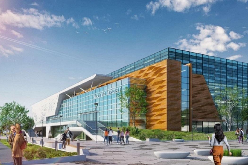 В Екатеринбурге Дворец водных видов спорта начнут строить в 2020 году