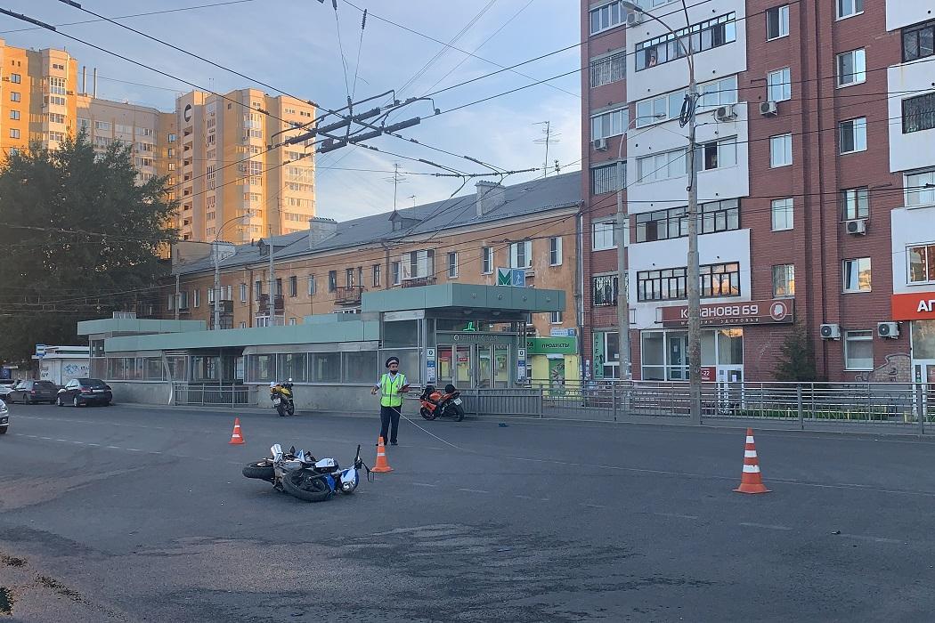 В Екатеринбурге произошло смертельное ДТП с участием мотоциклов