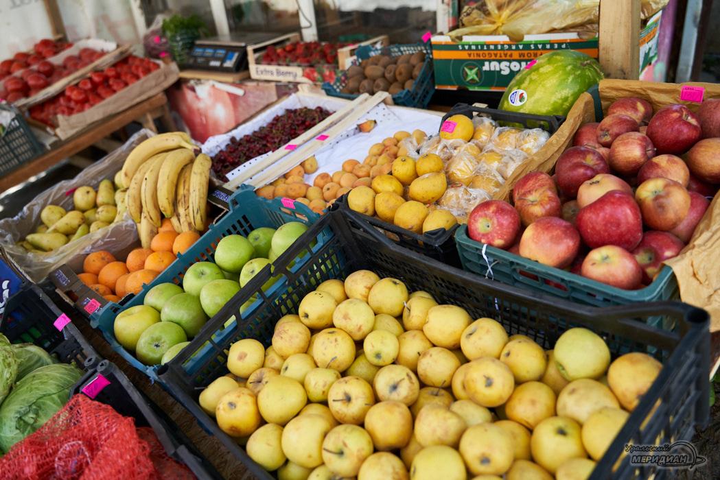 ларек овощи фрукты