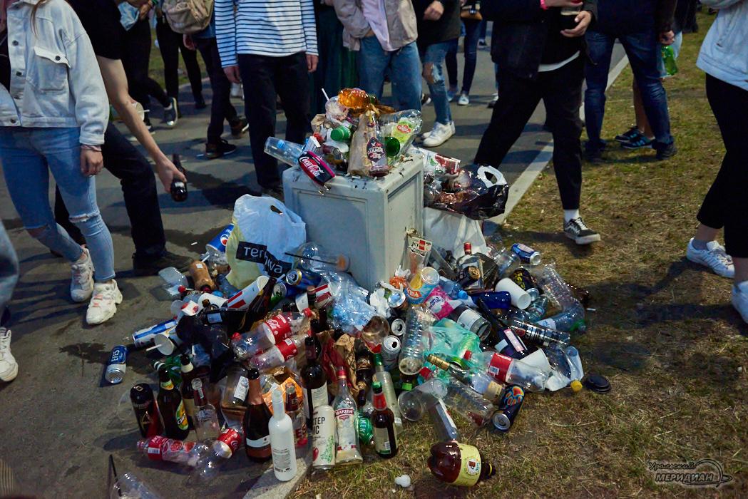 мусор свалка город урна