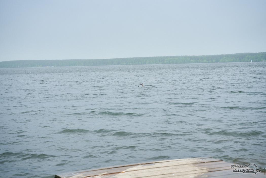 озеро водоем шарташ