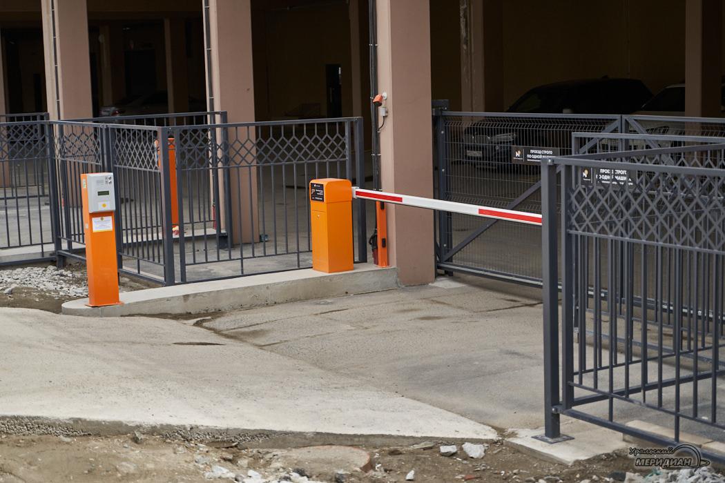 паркинг парковка ворота шлагбаум