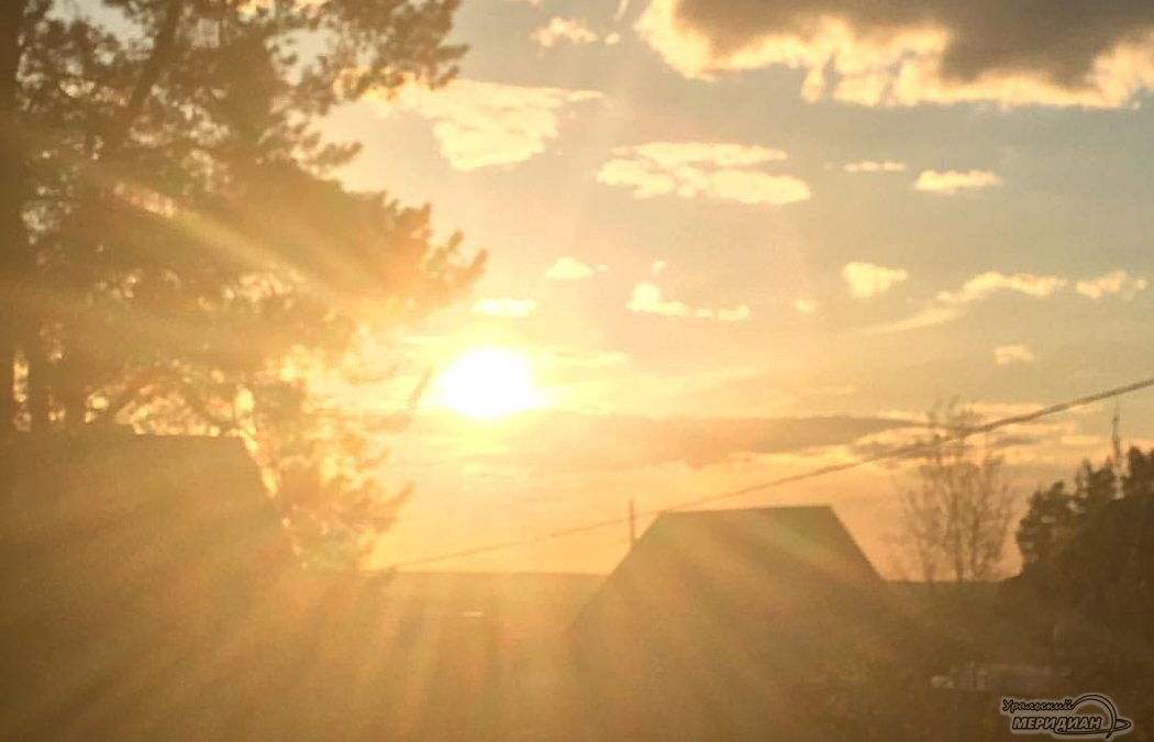 погода солнце