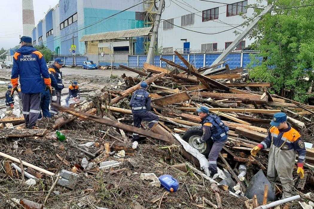В Нижних Сергах вода разрушила 3 дома и 4 моста