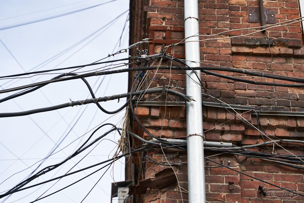 провода электричество дом энергетика