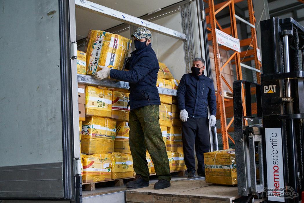 разгрузка товар склад карантин