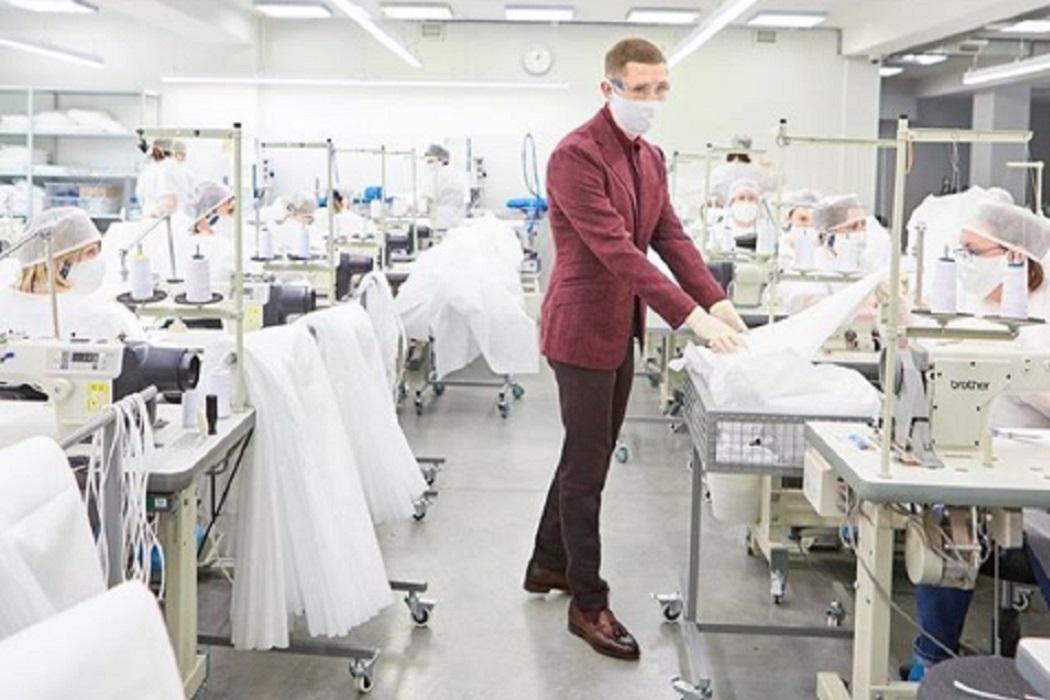 Уральский модельер поговорил с Путиным о лёгкой промышленности