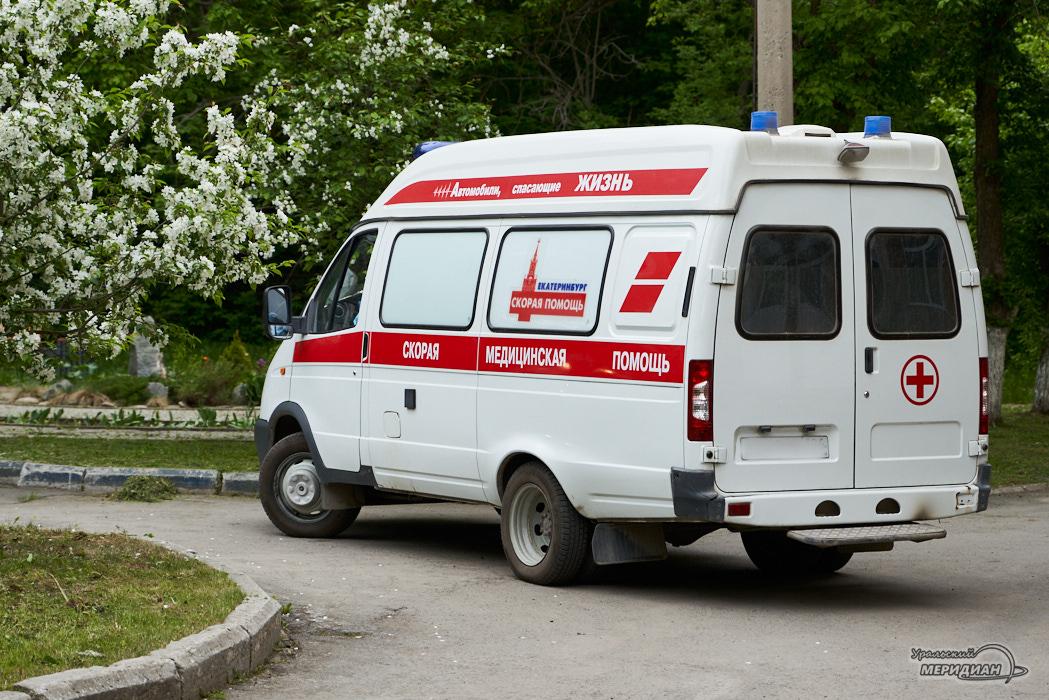 скорая помощь машина карантин Екатеринбург