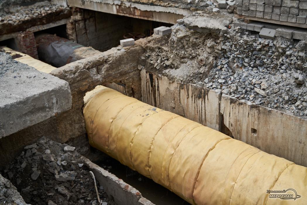 жкх теплотрасса ремонт вода трубы